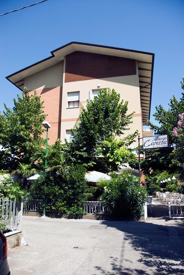 Parte Esterna - Hotel Albergo Carezza Cervia 2 stelle