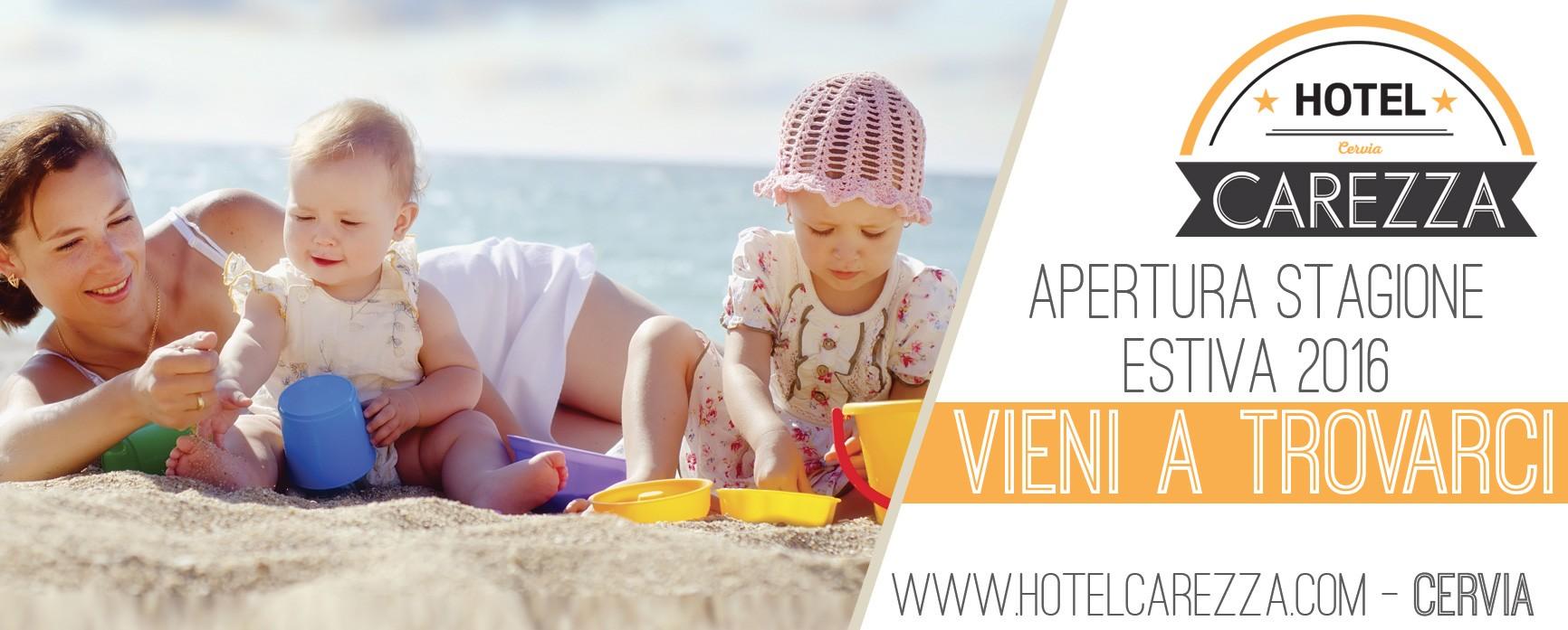 apertura stagione estiva 2019-hotelcarezza.com