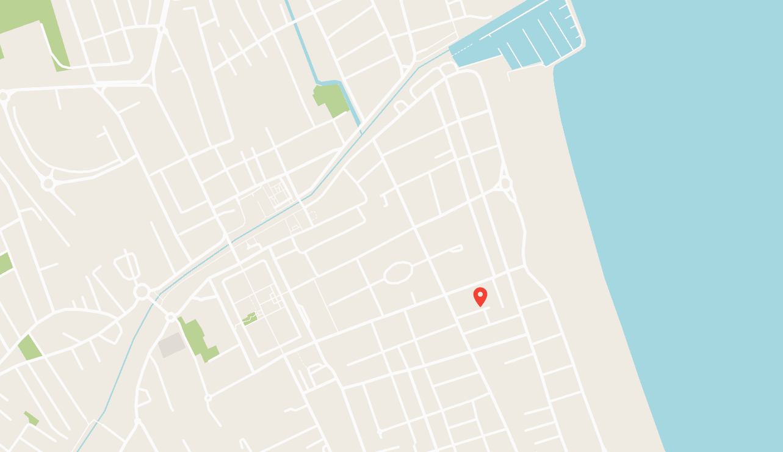 Mappa, Hotel Carezza Cervia, Via Caprera n.5